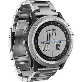 Relojes Cardio GPS Garmin Fénix 3 Sapphire HR - Negro/Gris