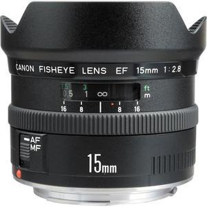 Objectif EF 15mm f/2.8