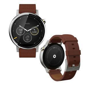 Motorola Smart Watch Moto 360 (1st gen) HR - Brown