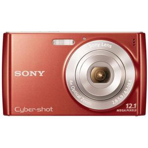 Compact - Sony Cyber-Shot DSC-W510 Rouge Sony 4X Optical Zoom Lens