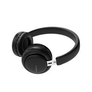 Kopfhörer Bluetooth mit Mikrophon Xo BE10 - Schwarz
