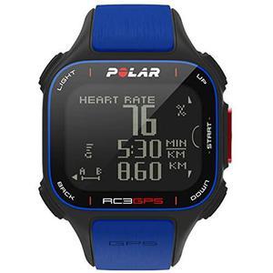 Polar Smart Watch RC3 GPS - Preto/Azul