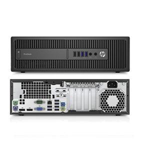 HP ProDesk 600 G2 Core i3-6100 3,7 - SSD 256 GB - 8GB