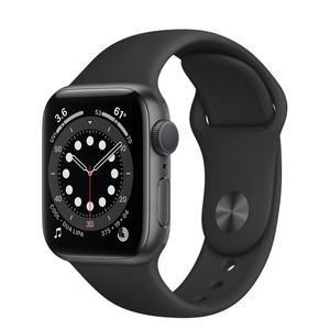 Apple Watch (Series 6) Setembro 2020 40 - Alumínio Cinzento sideral - Circuito desportivo Preto