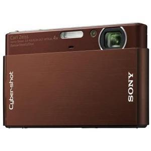Compact - Sony Cyber-shot DSC-T77 Marron Carl Zeiss Carl Zeiss Vario-Tessar 35-140mm f/3.5-4.6