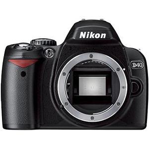 Cámara Réflex - Nikon D40X -Solo la carcasa - Negro