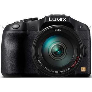 Hybride - Panasonic Lumix DMC-G6H Noir Lumix Lumix G 14-140mm f/3.5-5.6