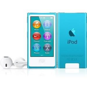 Lettori MP3 & MP4 16GB iPod Nano 7 - Blu