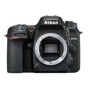 Cámara Reflex - Nikon D7500 Sin Objetivo - Negro