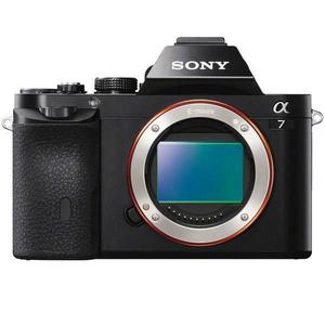 Híbrido - Sony Ilce 7 Alpha sin lente - Negro