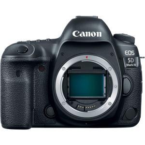 Reflex Canon EOS 5D Mark IV Alleen Body - Zwart