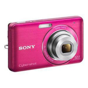 Compactcamera Sony DSC-W310 - Roze + lens Sony Lens 28-112 mm f/3.0-5.8