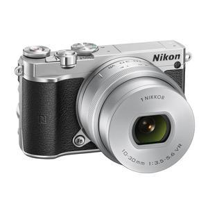 Compact Nikon 1 J5  - Silver + Nikkor Lens  f/3.5-5.6 VR