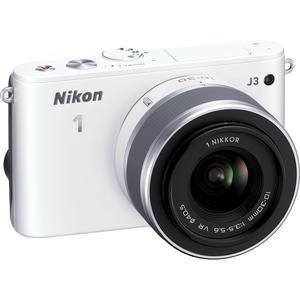 Hybridkamera - Nikon J3 - Weiß