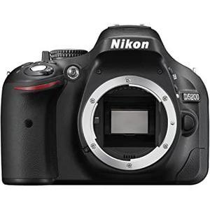 Spiegelreflexcamera Nikon D5200 Alleen Body - Zwart