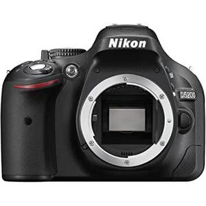 SLR-Kamera - NIKON D5200 Ohne Objektiv - Schwarz