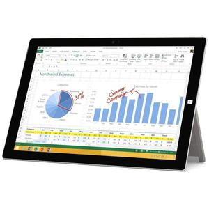 "Microsoft Surface Pro 3 12"" Core i5 1,9 GHz - HDD 128 Go - 4 Go"