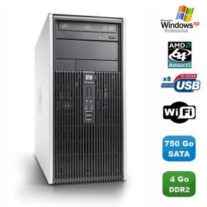 HP Compaq dc5850 MT AMD Athlon 64 X2 2,6 GHz - HDD 750 GB RAM 4 GB