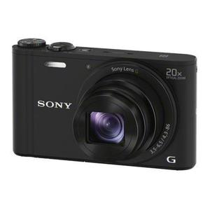 Kompaktikamera Sony Cyber-shot DSC-WX350 - Musta + objektiivi Sony Lens G Optical Zoom 25-500 mm f/3.5-6.5
