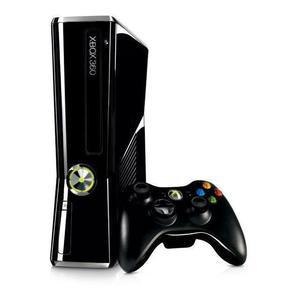 Microsoft Xbox 360 Ultra Slim 500 GB Konsole - Schwarz