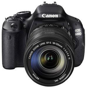 Reflex - Canon EOS 600D - Noir + Objectif EF-S 18-135MM f/3.5 - 5.6