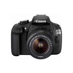 Spiegelreflexkamera Canon EOS 1200D - Schwarz + Objektiv Canon EF-S 18-55mm f/3.5-5.6 IS II