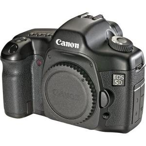 Cámara Reflex - CANON EOS 5D Sin objetivo - Negro