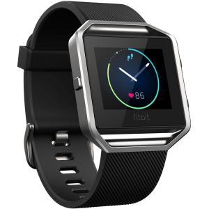 Horloge Cardio GPS Fitbit Blaze - Zwart