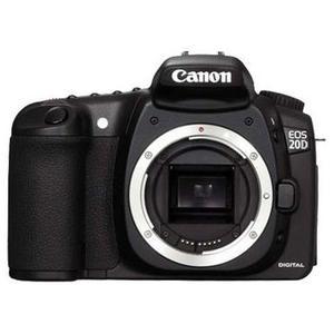 Spiegelreflexkamera Canon EOS 20D Schwarz - Nur Gehäuse