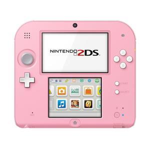 Nintendo 2DS - pelikonsoli + Tomodachi Life - Valkoinen/Vaaleanpunainen (pinkki)