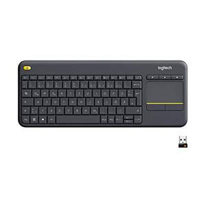 Logitech Tastatur QWERTZ Deutsch Wireless K400 Plus
