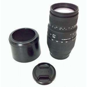 Sigma 70-300 mm 1: 4,0-5,6 Objektiv