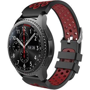 Montre Cardio GPS  Gear S3 Frontier - Rouge/Noir