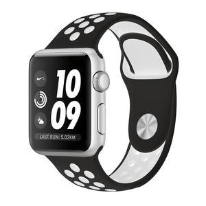 Apple Watch (Series 3) September 2017 38 mm - Aluminium Zilver - Armband Nike sport armband