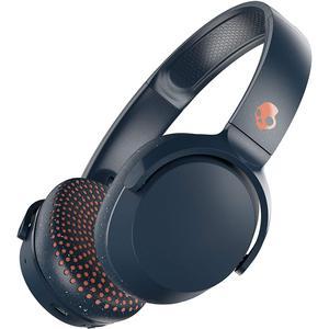 Kopfhörer Bluetooth mit Mikrophon Skullcandy Riff - Blau/Orange