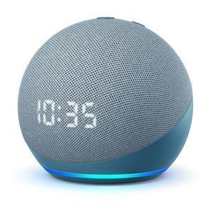 Amazon Echo Dot 4 Gen Speaker Bluetooth - Blauw/Grijs