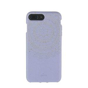 Coque écoresponsable, 100% biodégradable pour iPhone 6/6s/7/8 Plus - Lavande