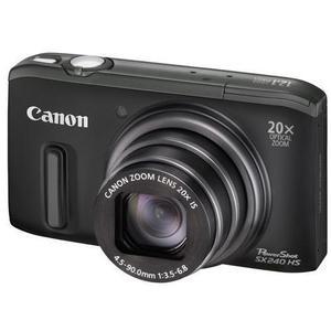 Compact - Canon PowerShot SX240 HS Noir Canon Zoom Lens 20X IS 25-500mm f/3.5-6.8