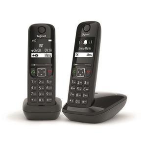 Téléphone fixe Gigaset AS690 Duo
