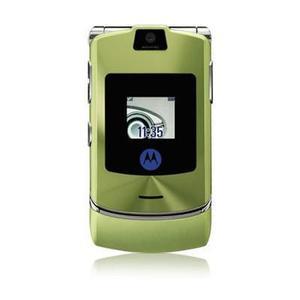 Motorola RAZR V3I - Grün/Silber- Ohne Vertrag