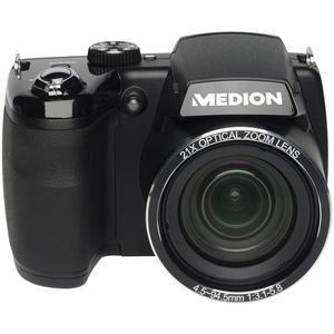 Fotocamera Bridge Medion Life X44088 - Nero + Obiettivo Medion 21x Optical Zoom Lens 4.5-94.5 mm f/3.1-5.8