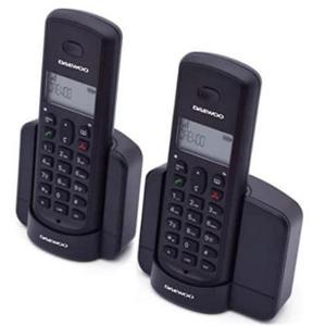 Téléphone fixe Daewoo DTD-1350 Dect Duo