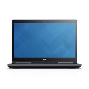 """Dell Precision 7710 17"""" Core i7 2,7 GHz - SSD 256 GB + HDD 1 TB - 16GB AZERTY - Ranska"""