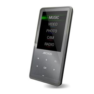 MP3-player & MP4 8GB Archos 24C Vision - Grau