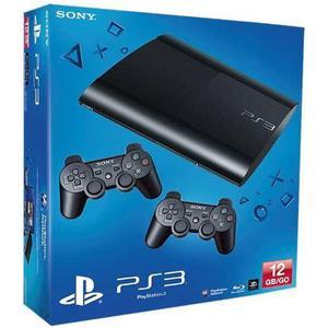 PlayStation 3 Ultra Slim - HDD 12 GB - Negro