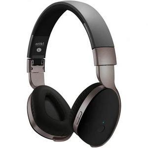 Kopfhörer Rauschunterdrückung Bluetooth mit Mikrophon Divacore Addict - Schwarz