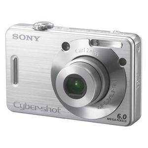 Compacta - Sony CyberShot DSC-W50 - Gris/Plata + Objetivo Vario-Tessar 2.8-5.2 38-114mm