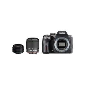 Spiegelreflexkamera Pentax K-70 Schwarz + Objektiv Pentax 18-55 mm f/3.5-5.6 + 55-300 mm f/4-5.8 + 50 mm f/1.7 + Sigma 30 mm f/1.4
