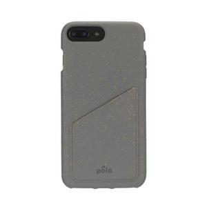Coque iPhone 6 Plus/6S Plus/7 Plus/8 Plus - Biodégradable - Gris