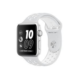 Apple Watch (Series 2) 42 mm - Aluminium Grijs - Armband Nike sport armband